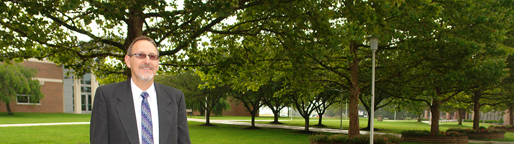 Dr. Sprinkle on WCC Campus